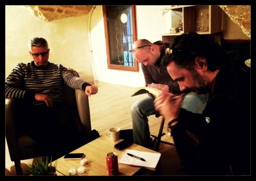 Prayer in an upper room in France