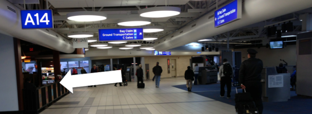 St Louis airport